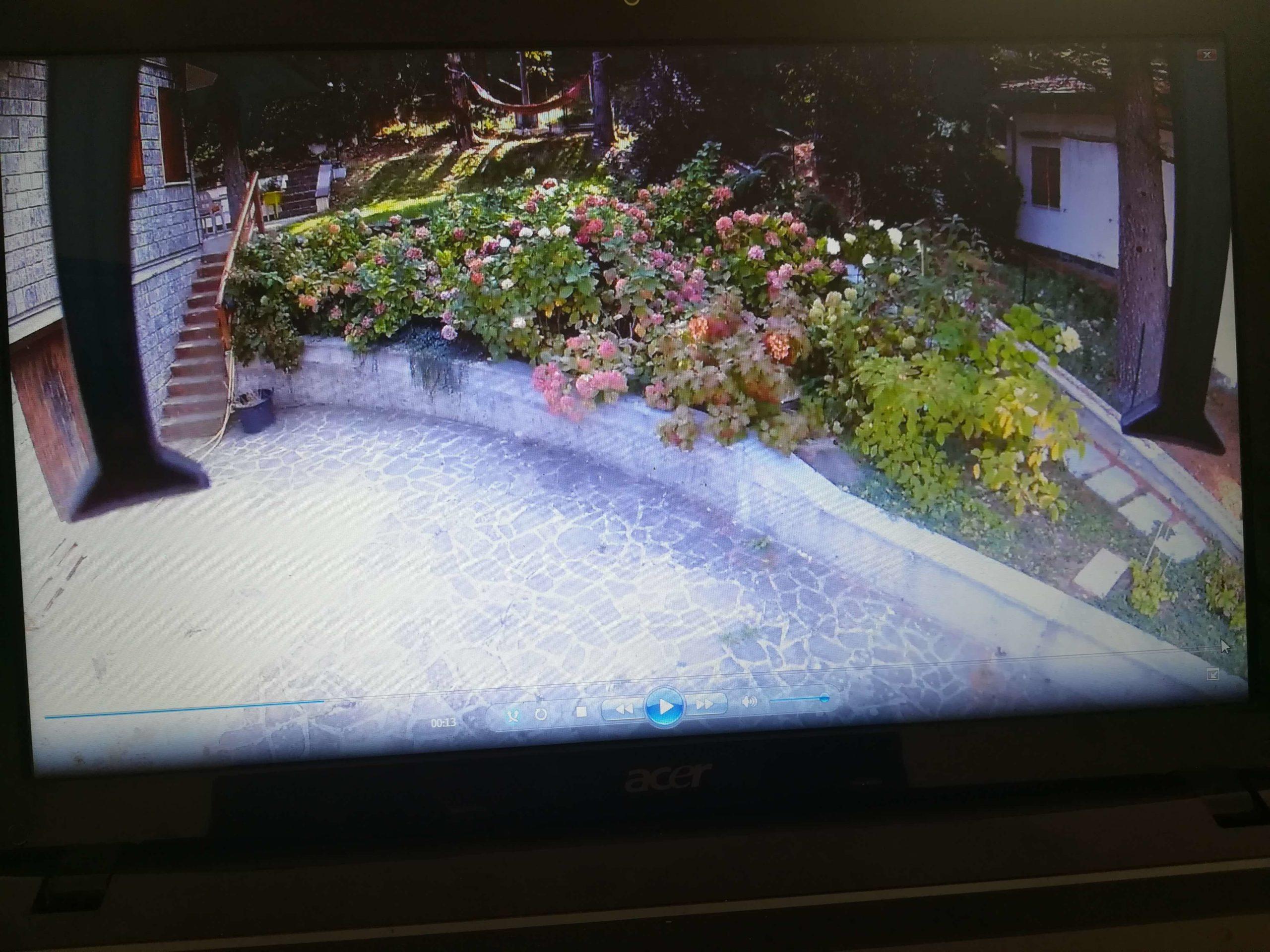 Video monitoraggio dello sviluppo del giardino di ortensie con un Drone – post thumbnail